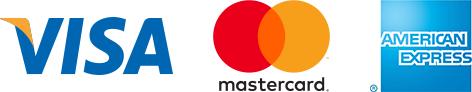 Visa、MasterCard、American Express